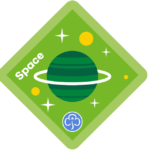 Press release: Brownies reach for the stars with new space badge